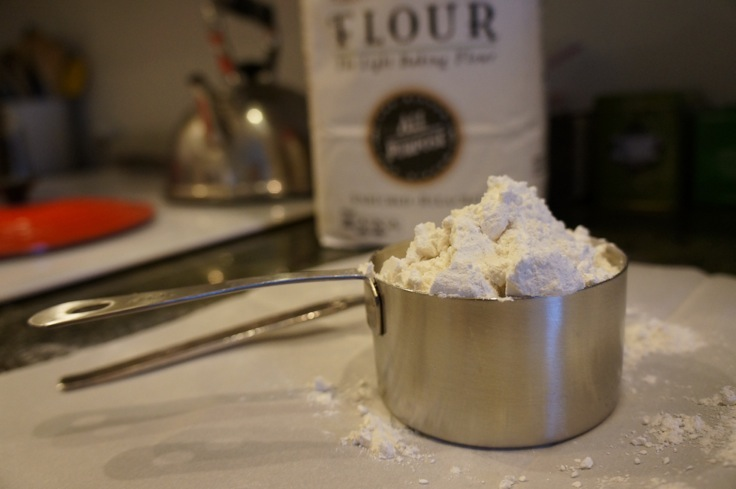 flour for biscuit topping from http://www.pleasepassthepeas.com