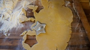 Cutting out sugar cookies from https://test.pleasepassthepeas.com