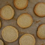 Buckwheat Butter Cookies