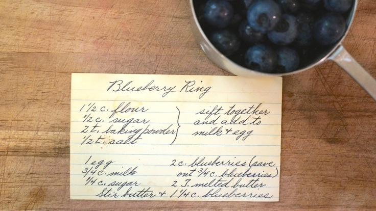 Old recipe card from http://www.pleasepassthepeas.com