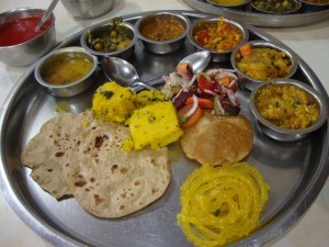 Gujarati Thali from https://test.pleasepassthepeas.com